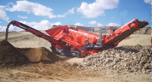 Terex Finlay 883 Screener