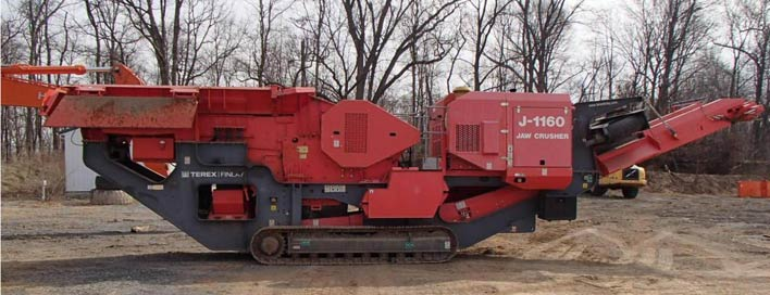 Terex  Jaw Crusher J-1160