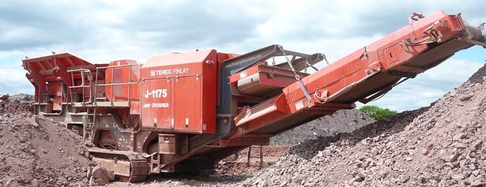 Terex Jaw Crusher J-1175